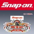 Snap-on スナップオン ビンテージステッカー OWN THE BEST [ゆうパケット送料無料]