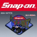 Snap-on スナップオン ビンテージステッカー SSX1977FR [ゆうパケット送料無料]