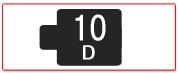 ヘッド交換式用ヘッド[10D]