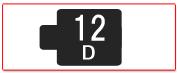 ヘッド交換式用ヘッド[12D]