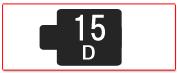 ヘッド交換式用ヘッド[15D]