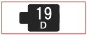 ヘッド交換式用ヘッド[19D]