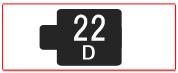 ヘッド交換式用ヘッド[22D]