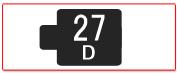 ヘッド交換式用ヘッド[27D]