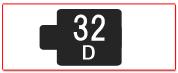 ヘッド交換式用ヘッド[32D]