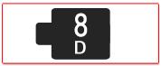 ヘッド交換式用ヘッド[8D]